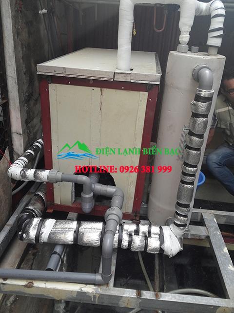 Hệ thống làm lạnh nước công nghiệp