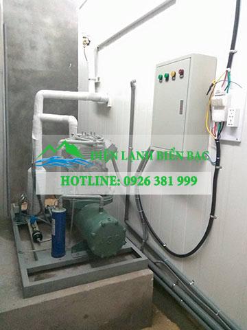 lắp đặt kho lạnh bảo quản hải sản tại Quảng Bình