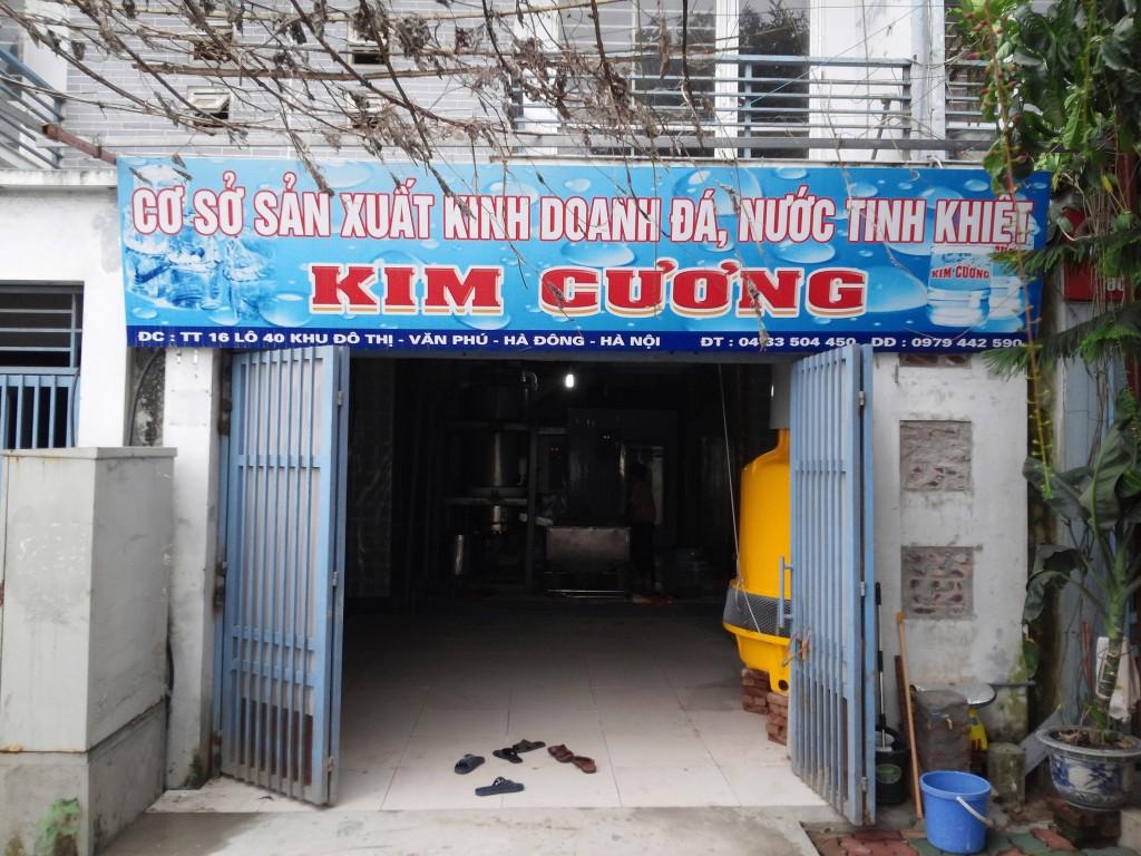 cơ sở sản xuất đá viên