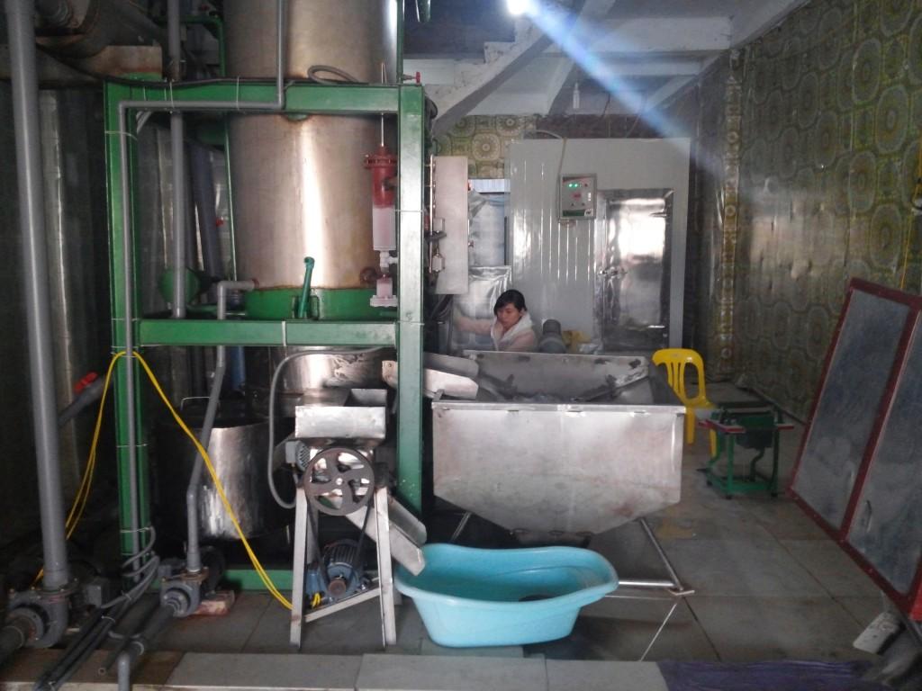 Hệ thống máy sản xuất đá viên