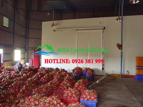 lắp đặt kho lạnh bảo quản nông sản, lắp đặt kho lạnh bảo quản hoa quả, kho lạnh bảo quản trái cây