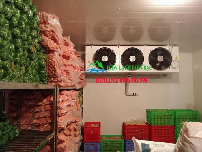 lắp đặt kho lạnh bảo quản giò, thi công kho lạnh bảo quản giò chả xúc xích, kho lạnh bảo quản giá rẻ