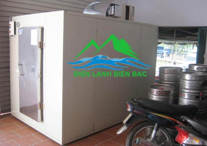 Kho lạnh bảo quản bia tươi tại Mỹ đình Hà Nội do điện lạnh Biển Bạc Lắp đặt