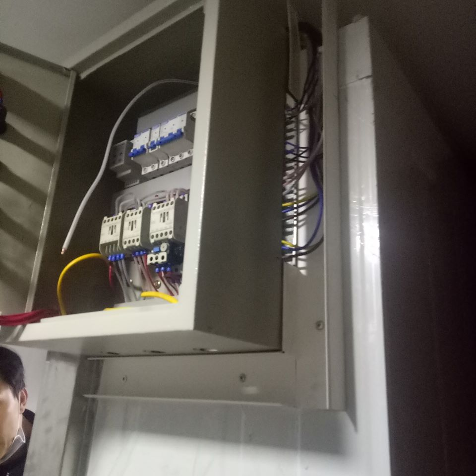 Tủ điện điều khiển cho kho lạnh
