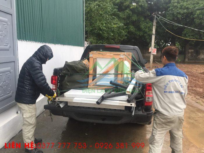 thi công và lắp đặt kho lạnh bảo quản rác thái y tế