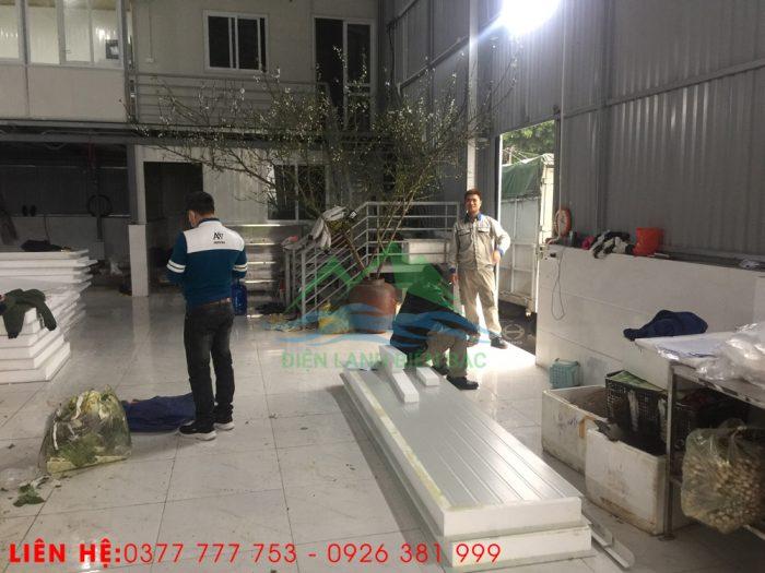 thi công và lắp đặt kho lạnh bảo quản rác thái y tế - tập kết vật tư