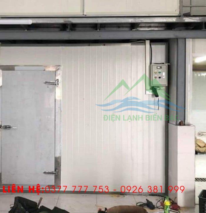 thi công và lắp đặt kho lạnh bảo quản rác thái y tế - chạy thử nghiệm kho và bàn giao cho khách
